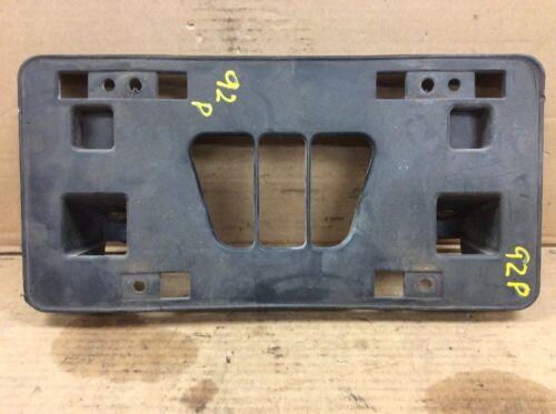 92 93 94 95 96 Prelude Front Bumper License Plate Base Frame Holder Used OEM