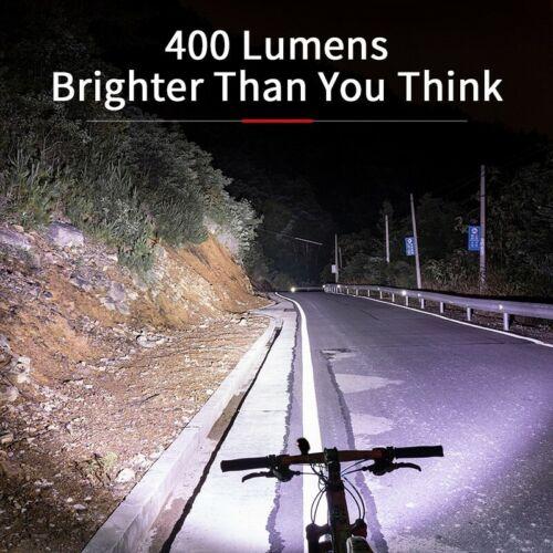 New Rainproof Bike Front LED Light 2000mAh Lamp USB Rechargeable Ultra Headlight