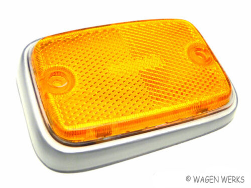 VW Type 2 Side Marker Lens Bus  1970 to 1973 Front