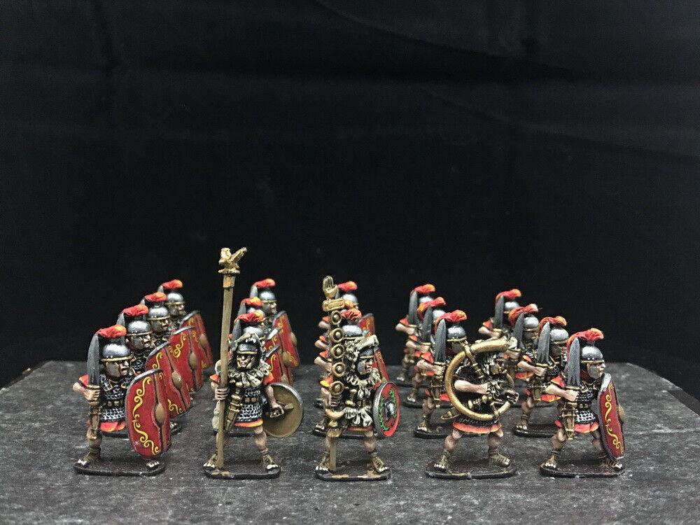 28mm Antigua WAB Departamento de Seguridad Pública Pintado Infantería de Línea Imperial romana GH823