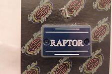 YAMAHA RAPTOR 350,660 & 2006 700 BILLET MASTER CYLINDER FRONT BRAKE COVER BLUE