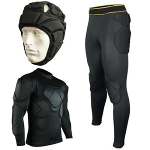 03c6bf81b31 Image is loading FOOTBALL-GOALKEEPER-CLOTHING-YOUTH-ADULT-SOCCER-PADDED-TOP-