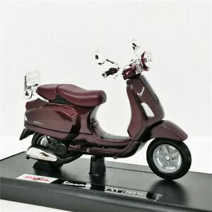 MAISTO-1-18-Vespa-LXV-del-2013-MOTORCYCLE-BIKE-DIECAST-MODEL-NEW-IN-BOX