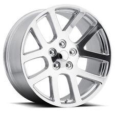 "(4) 24"" 24x10 SRT10 Style Fits 2002 - Up Dodge Ram 1500 Wheels Rims Chrome"
