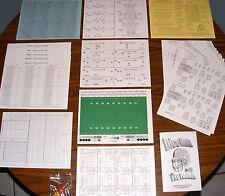 Dice Nutz Pro Football Board Game & Historic NFL AFL Team Card Sets 1, 2 & 3