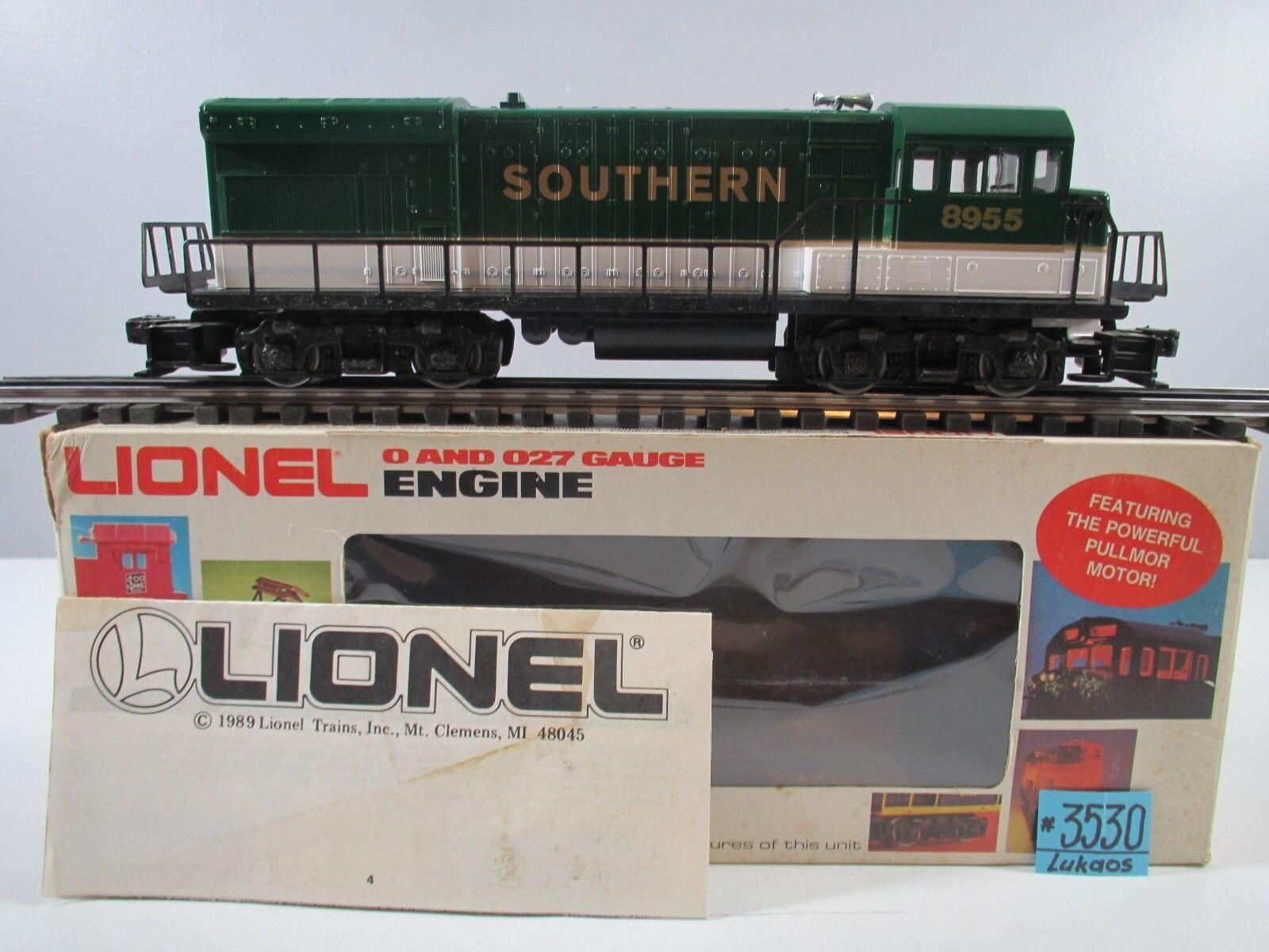 Locomotora Lionel 6-8955 Sur de U36B con la tecnología probada funciona bien. O.B.
