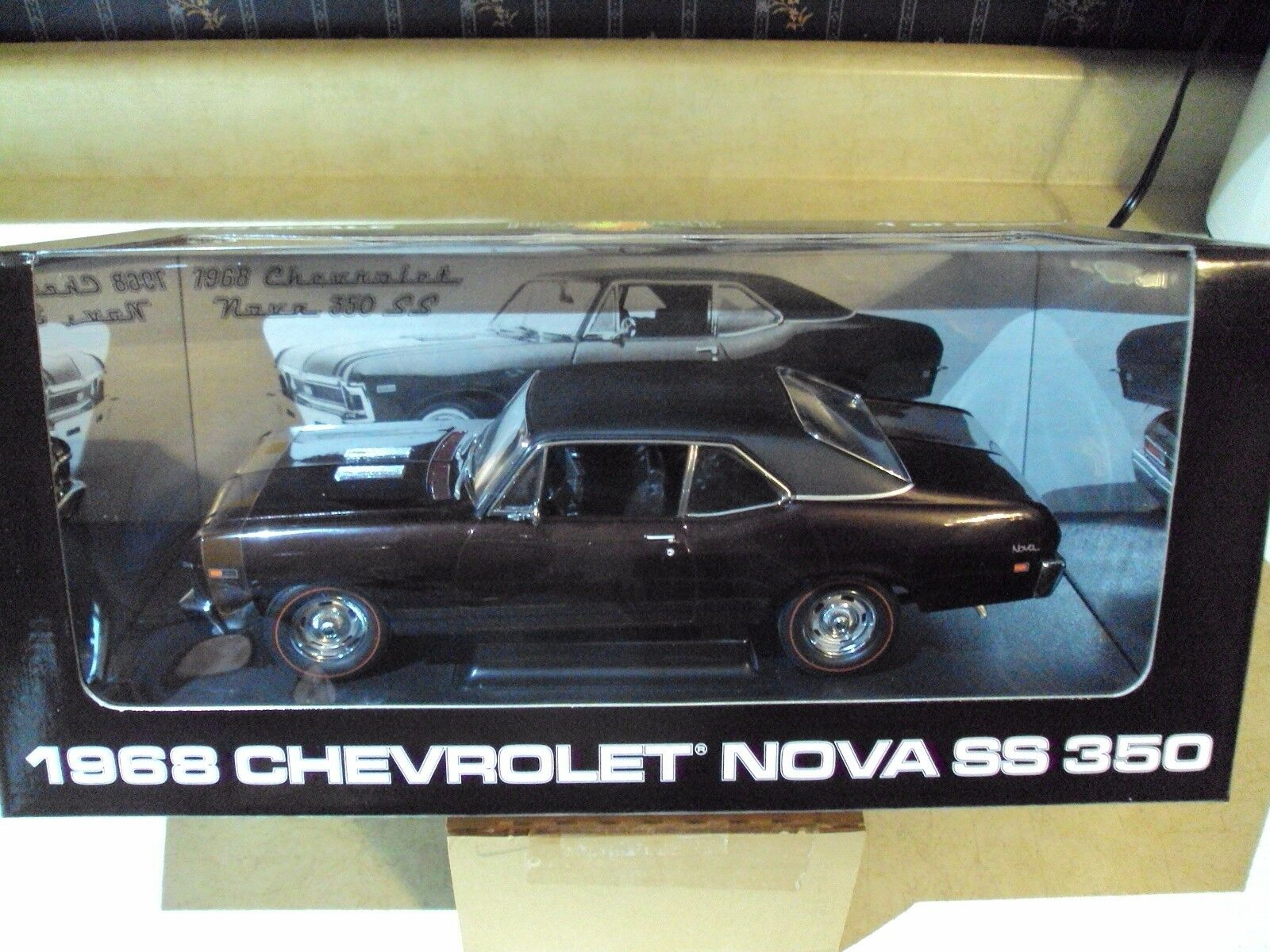 NEW NEW NEW PEACHSTATE by GMP1968 CHEVY NOVA SS 350DARK MAROON1 18 I of 2335 b2d7d3