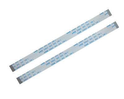 12pin 150mm AWM 20624 80C Ribbon Cable laptop Flex Kabel 0.5mm  12 pin  A 2Pcs