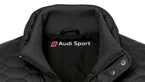 Audi Steppjacke im Wabendesign Audi Jacke Quattro Kühlergrill//Singleframe