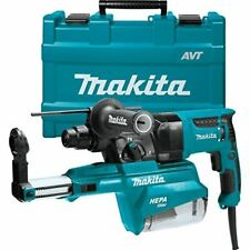 Makita Hr2651 1 Avt Rotary Hammer Accepts Sds Plus Bits Withhepa Dust Extractor