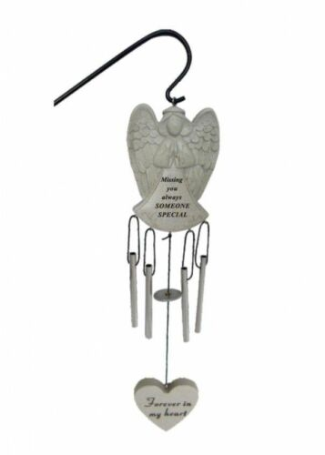 Angel Memorial Carillon éolien Tombeau du souvenir pour Grand-Père Papa Maman hommage