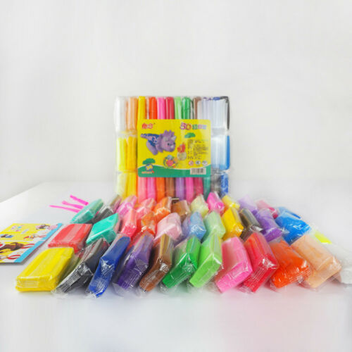 12-36 Colors DIY Super-Light Clay Slime Modeling Plasticine Sculpting Toys Kids