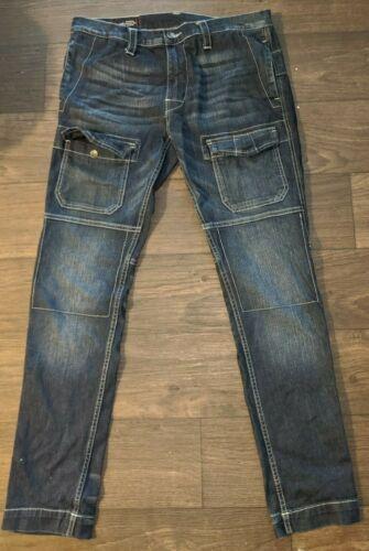 True Religion Men's Cargo Jeans Size (33)