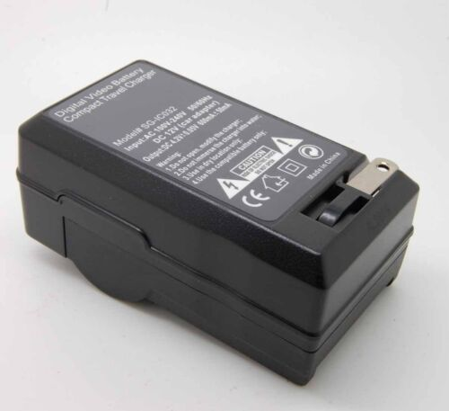 Corrente alternativa Caricabatteria per JVC BN-VG107U BN-VG108U BN-VG114U BN-VG121U BN-VG138U SX