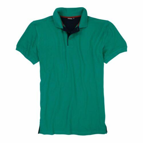 Poloshirt Herren Shirt Polo Übergröße Kurzarm Baumwolle Polohemd piqué XXL-12XL