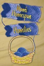 Mom's Homespun Homilies by Bernadette Anderson (2014, Paperback)