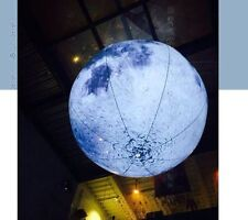 2M Led Lighted Inflatable Moon Ball for Outdoor Promotion T