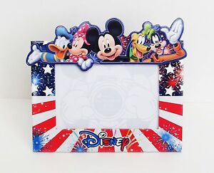 Disney Mickey Minnie Goofy Donald Pluto Freedom Group Picture