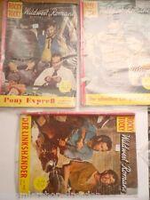 3x ROCKY TOCKY Wild- West Romane Nr. 31, 62, 72 Mauerhardt  Wien,