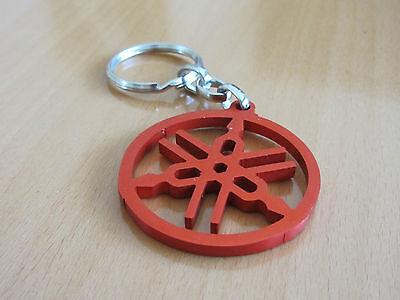 Yamaha Key Chain Ring- Red