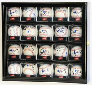 Sports Mem, Cards & Fan Shop Display Cases 4 Ballqube Baseball Square Holders Cube Display Case Factory Direct Selling Price