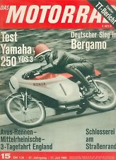 Motorrad 15 65 Yamaha YDS 3 250 TT Isle of Man DMV Avusrennen Avus Bosch 1965