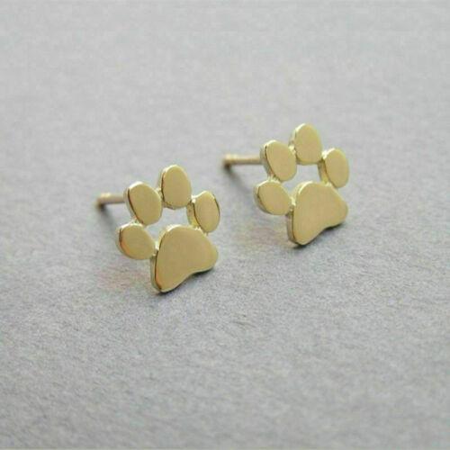 New Fashion Women/'s Girl 925 Silver Sterling Earrings Cute Ear Stud Jewelry Gift