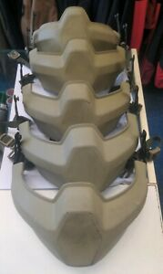 BRITISH ARMY REVISION VIRTUS MANDIBLE BATLSKIN, SIZE Large. (Broken rear clip)