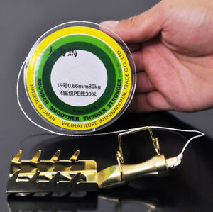 Stainless Steel Fishing Lure Saver Bait Rescue Retriever + 100FT PE Line Utility