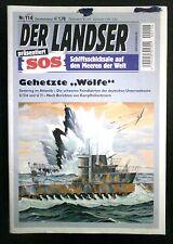 Der Landser SOS Schiffsschicksale Nr: 114  Gehetzte Wölfe