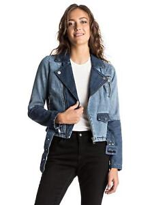 139 Denim Ogeia Rrp Roxy 99 Jacket Lyseblå New Womens fP5TxY