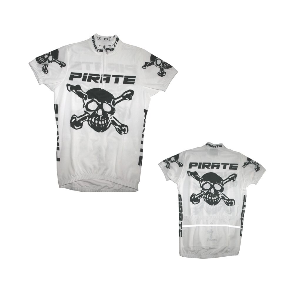 Pirate Trikot Weiss, Skull, Totenkopf, Pirat, Pirates   more affordable
