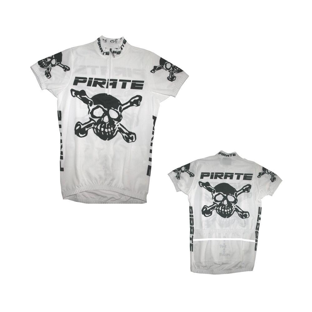 Pirate Trikot Weiss, Skull, Totenkopf, Pirat, Pirates