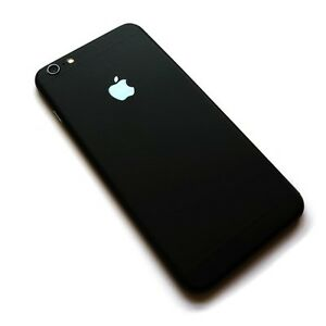 matte black iphone apple iphone 6 6s matte black luxury fashion back 6643