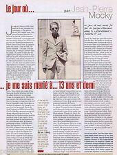 COUPURE DE PRESSE CLIPPING 2004 Jean-Pierre Mocky  (1 page)