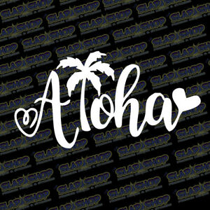 Aloha-Hawaiian-Vinyl-Sticker-Decal-Design-Ocean-Hawaii-Beach-Car-Truck