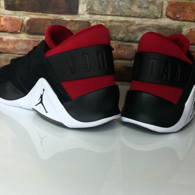 reliable quality official images beauty Nike Jordan Flight Fresh Premium Jumpman Black Red Mens Shoe Sz 10.5  AH6462-001