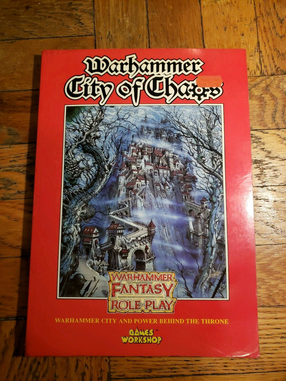 Games Workshop Warhammer City of Chaos Fantasy Roleplay City & Power Behind