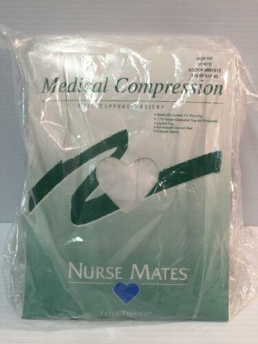 Confezione Confezione Medical Bianco 881612 Modello Compression Mates da Infermiera Ee Hosiery 12 01Z7qIpx