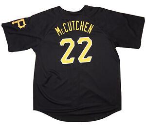 MLB Pittsburgh Pirates Andrew McCutchen Black Stitched Majestic Baseball Jersey