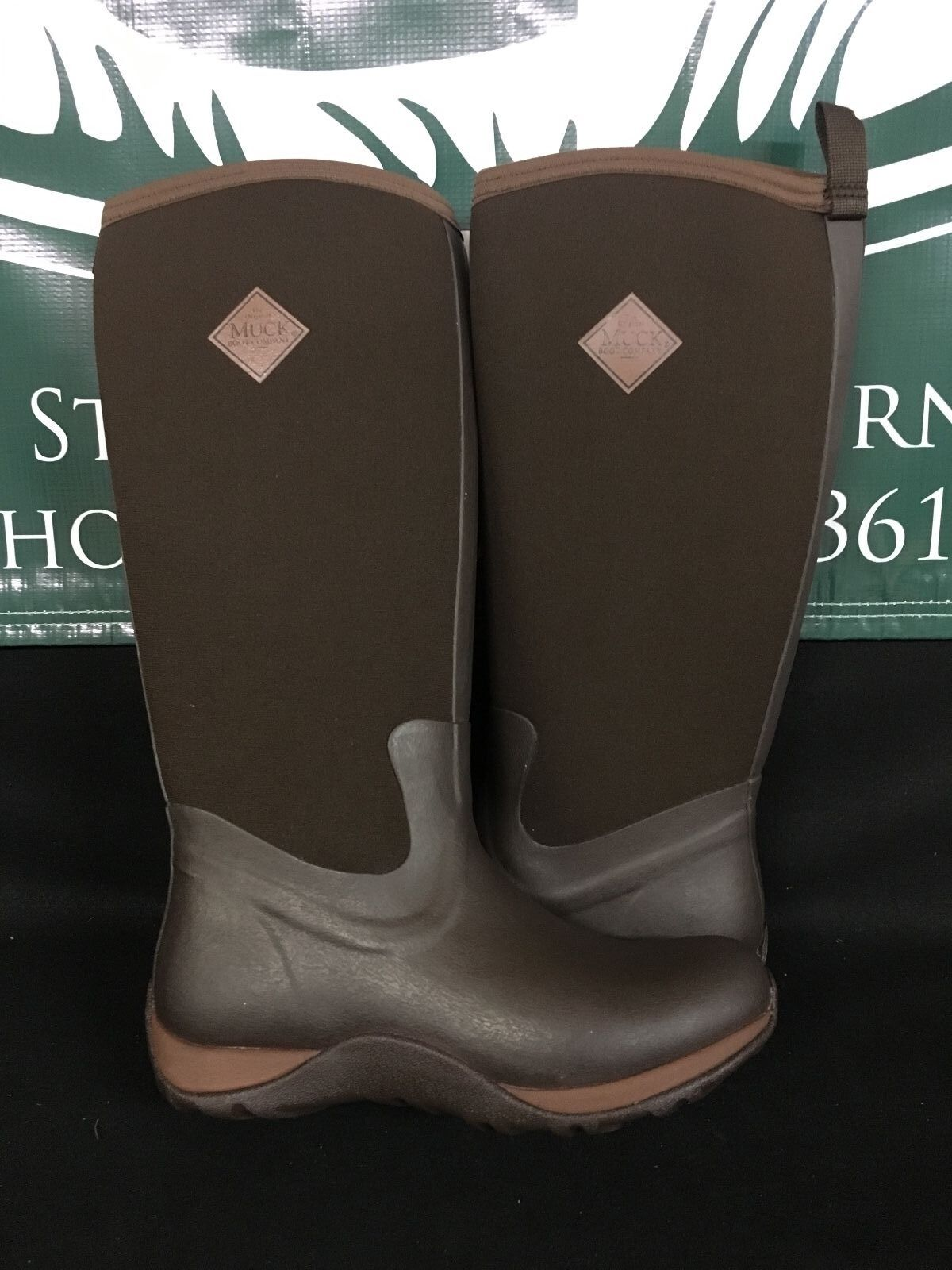 Muck Boot Co. Arctic Adventure Chocolate Brown Women's Sizes WAA-901 BRAND NEW