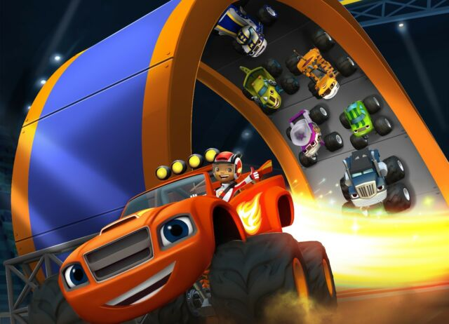 BLAZE AND THE MONSTER MACHINES POSTER - 2 Sizes Available [05] Teen Kids