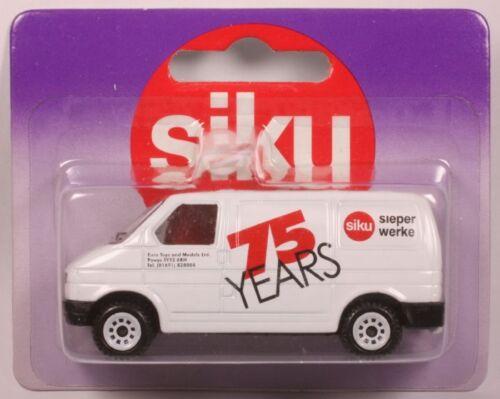 1188-48 Werbemodell - 75 Years Sieper OVP Siku 0820 VW Kastenwagen