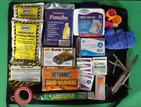 Emergency Survival Kit Hurricane Disaster Survival Prepper Flood Car Safety Kit