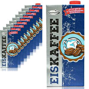 Foresta-ad-alta-10-x-Premium-Eiskaffee-1-5-fettarm-1-LITRI-Ice-Coffee-bevanda-a-freddo
