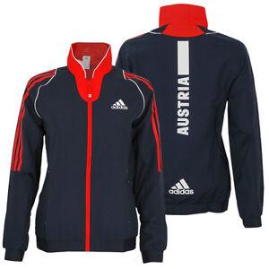 adidas Damen Präsentation Jacke Team Austria Teamjacke