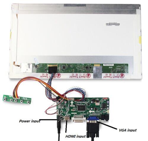 "LCD LED controller board kit HDMI VGA DVI for B156HB01 V0 1920*1080 15.6/"" screen"