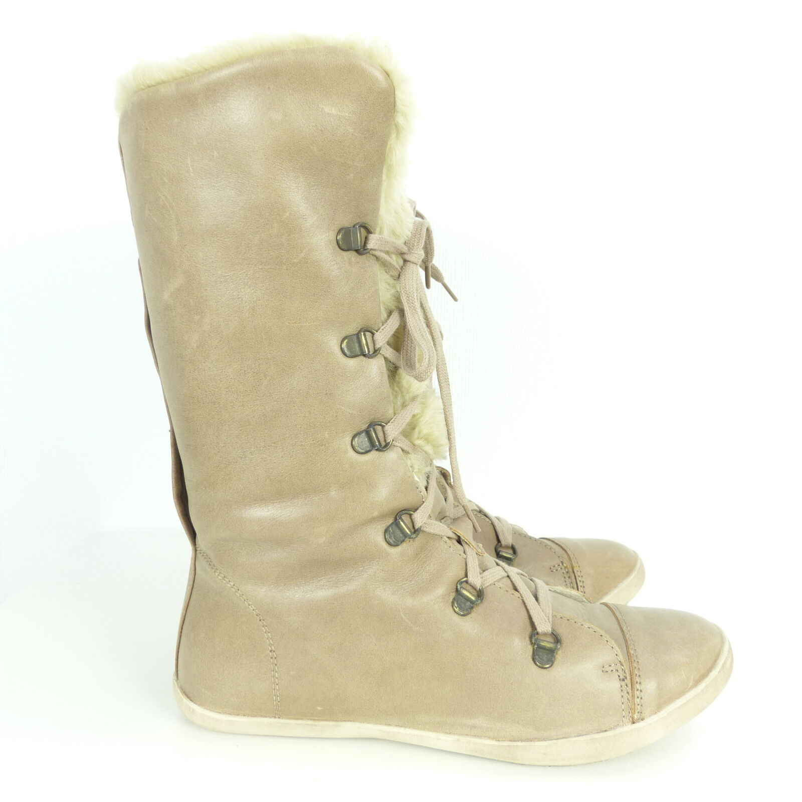 ONE OF A KIND Stiefeletten Boots Winter Kunstfell Impressionen Gr. Gr. Gr. EUR 39 e2df47