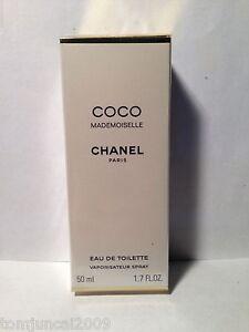 chanel coco mademoiselle eau de toilette spray 1 7oz 50ml factory sealed 3145891164503 ebay