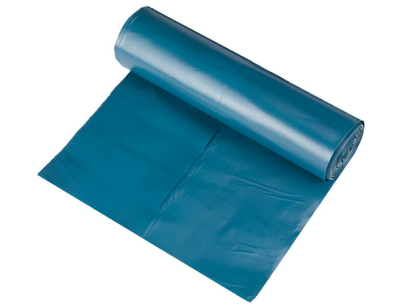 200 Stück Müllsäcke 120 l 700x1100 mm Typ 100 extra stark blau 72 My (AG-273)